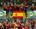 Espagne Coupe des confédérations 2013