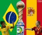 Finale Coupe des confédérations 2013, Brésil vs Espagne