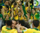 Brésil, champion de la Coupe des confédérations 2013