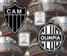Olimpia Asuncion vs Atlético Mineiro. Finale Copa Libertadores 2013