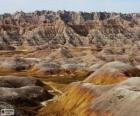 Parc national des Badlands, États-Unis