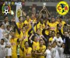 Club America, champion du tournoi Clausura 2013, Mexique