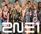 2NE1, groupe féminin sud-coréen