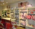 Boutique de mode pour enfants