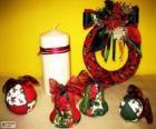 Ornements de Noël variées