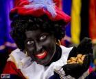 Zwarte Piet, Pierre le Noir, l'adjoint de Saint-Nicolas aux Pays-Bas et en Belgique