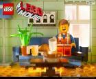 Emmet, le protagoniste du film Lego