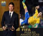 Prix Puskas de la FIFA de 2013 pour Zlatan Ibrahimovic