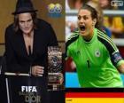 Nadine Angerer Joueur Mondial de la Coupe 2013 Année