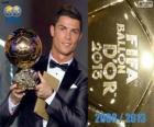 Cristiano Ronaldo Ballon d'Or FIFA 2013