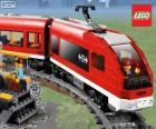 Un train Lego