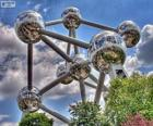 Atomium, Bruxelles, Belgique