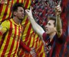 Leo Messi, meilleur buteur de l'histoire du FC Barcelone