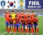 Sélection de la Corée du Sud, Groupe H, Brésil 2014
