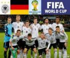 Sélection de l'Allemagne, Groupe G, Brésil 2014