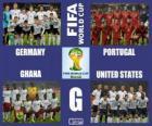 Groupe G, Brésil 2014