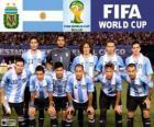 Sélection de l'Argentine, Groupe F, Brésil 2014