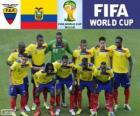 Sélection de l'Equateur, Groupe E, Brésil 2014