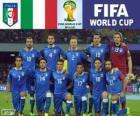 Sélection de l'Italie, Groupe D, Brésil 2014