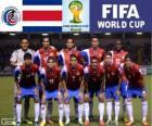 Sélection du Costa Rica, Groupe D, Brésil 2014