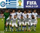 Sélection de Grèce, Groupe C, Brésil 2014
