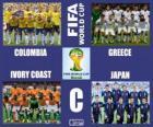 Groupe C, Brésil 2014