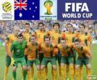 Sélection de l'Australie, Groupe B, Brésil 2014