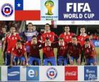 Sélection du Chili, Groupe B, Brésil 2014