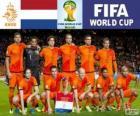Sélection des Pays-bas, groupe B, Brésil 2014