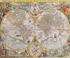 Carte historique du monde
