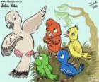 Oiseaux de couleurs, Julieta Vitali