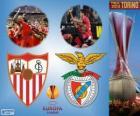Sevilla vs Benfica. Europe League 2013-2014 Final à Juventus Stadium, Turin, Italie