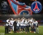 Paris Saint Germain, PSG, champion Ligue 1 2013-2014, Championnat de France de Football