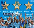 Manchester City, champion de Premier League 2013-2014, Ligue de Football d'Angleterre