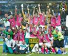 Club León F.C., champion Clasura Mexique 2014