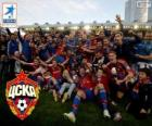 CSKA Moscou, Champion League Premier 2013-2014, la Ligue de football russe