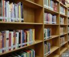 Rayonnage. Bibliothèque