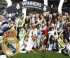 Real Madrid, champion de la Ligue des Champions UEFA 2013-2014