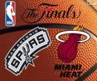 NBA finales de 2014. San Antonio Spurs vs Miami Heat