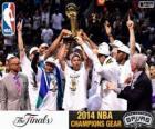 Spurs, champions NBA 2014