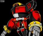 E-123 oméga, robot créé par le docteur Eggman