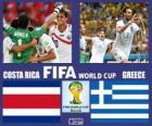 Costa Rica - Grèce, huitième de finale, Brésil 2014