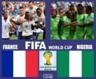 France - Nigéria, huitième de finale, Brésil 2014