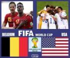 Belgique - États-Unis, huitième de finale, Brésil 2014