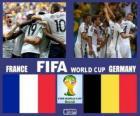 France - Allemagne, quart de finale, Brésil 2014