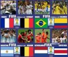 Quarts de finale, Brésil 2014