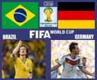 Brésil - Allemagne, demi-finales, Brésil 2014