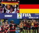 Allemagne célèbre sa classification, Brésil 2014