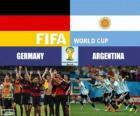 Allemagne vs Argentine. Finale de Coupe du Monde FIFA Brésil 2014