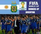 Argentine, 2e au classement du Coupe du monde de Football Brésil 2014